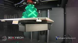 3DXTech 3D Printed Christmas Tree Time Lapse