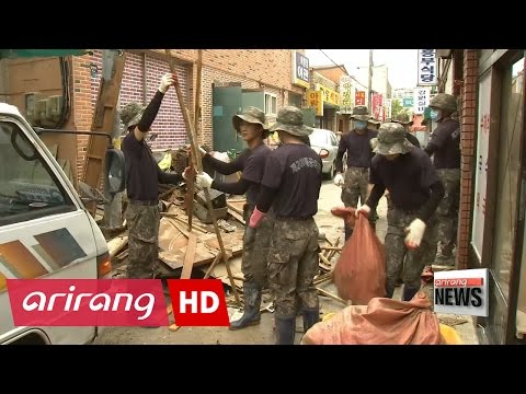 Ulsan concentrates on recovery efforts after Typhoon Chaba