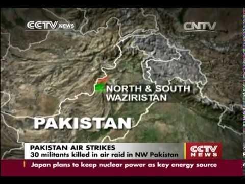 Punjabi Pakistan airstrikes in N & S Waziristan kill 40+ mostly civilians
