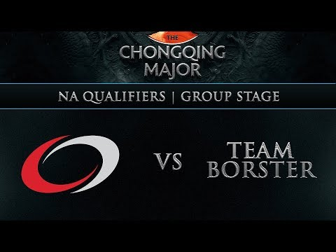 Borsters vs compLexity - The Chongqing Major - Game 1