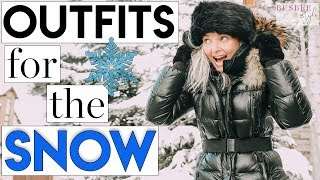 Outfits for the Snow | What to Wear When It