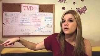 "TVD 5.03 ""Original Sin E A PALHAÇADA DAS DOPPELGÄNGERS"" - Videocast Halo Desfocado - Fernanda Schein"