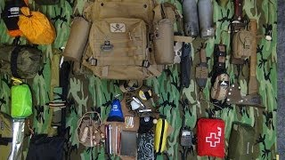 Bushcraft And Day Camping Kit 2014~