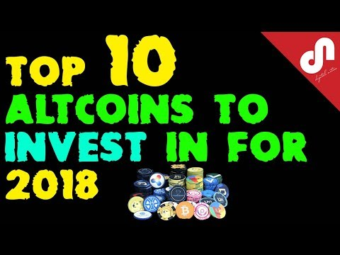 Top 10 Best Popular Altcoins for 2018 || Future Cryptocurrency INVESTMENTS with massive gains |