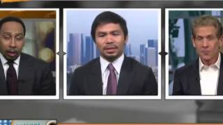 Manny Pacquiao says Floyd Mayweather doesn
