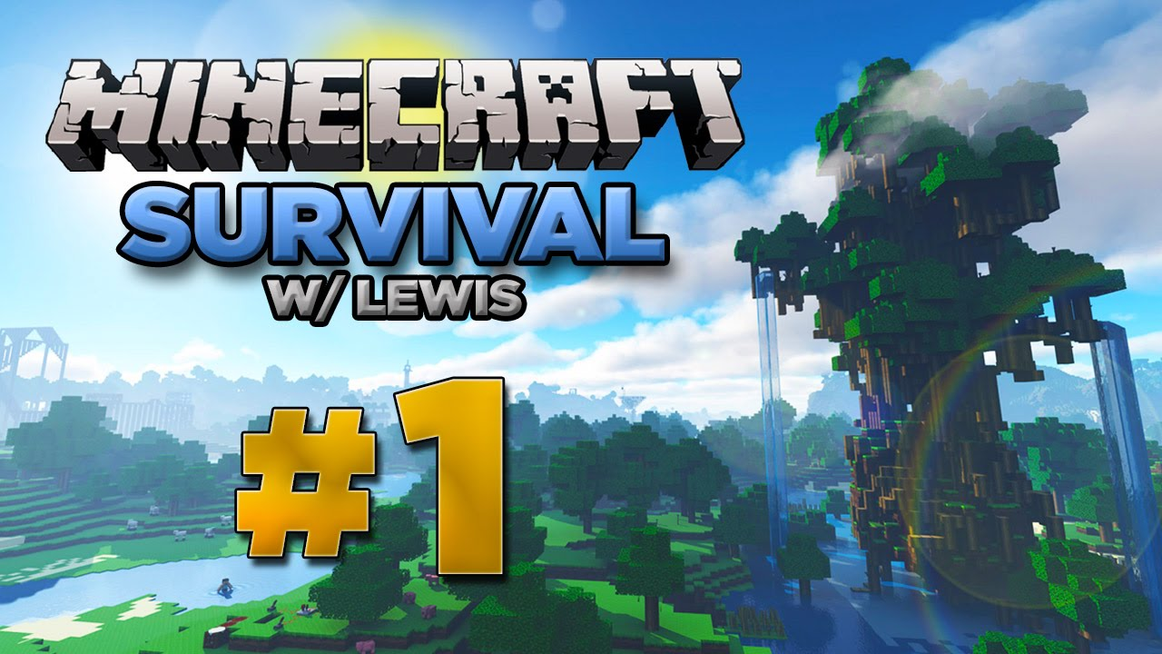 Minecraft Xbox: Survival Lets Play - Part 1 [XBOX ONE EDITION] 2016 Series  - W/Commentary