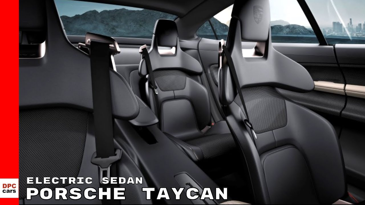 Porsche Taycan Electric Sedan Youtube