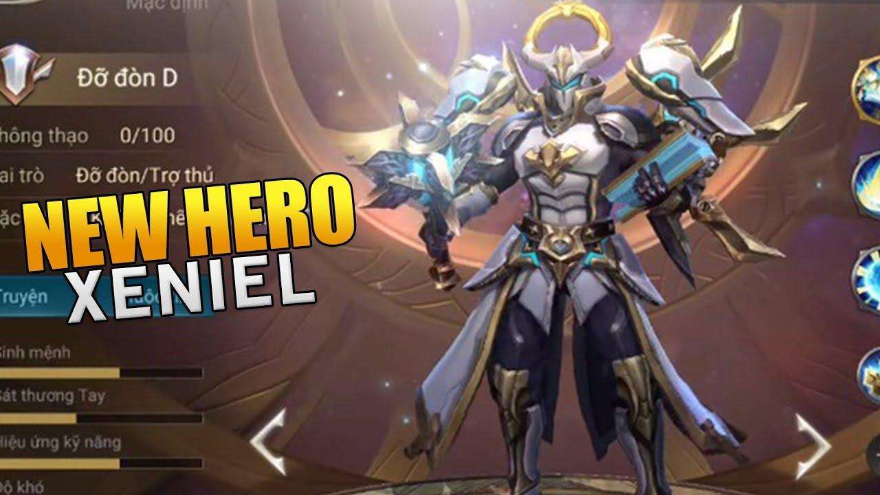 Arena Of Valor New Hero Xeniel Gameplay