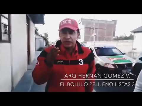 """VAMOS TODOS A VOTAR POR EL CAMBIO. ARQ. Hernan Gómez Villagran. """"El Bolillo Pelileño"""""""