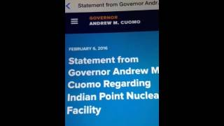 WARNING: Indian Point Nuclear Plant Radiation Leak (Wormwood) New York