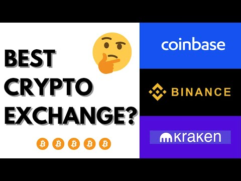 BEST CRYPTO EXCHANGE? BINANCE, COINBASE, KRAKEN
