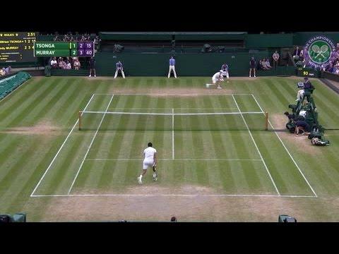 2016, Day 9 Highlights, Andy Murray vs Jo-Wilfried Tsonga