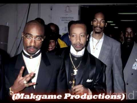 2Pac ft. MC Hammer - Instrumental - Too Late Playa (Makgame Remake Mix)