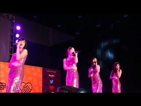 JKT48 - Heavy Rotation Dangdut Version (Live at Halloween Night Handshake Festival)