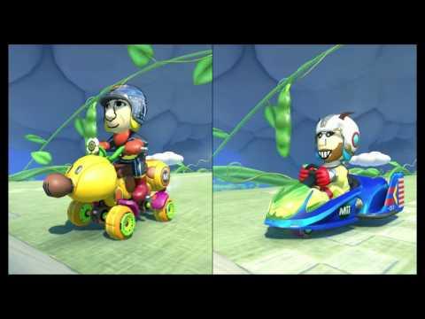 Mario Kart 8 (MK8) online GAZ v DEAN v SAINT v AARON (DUNG)
