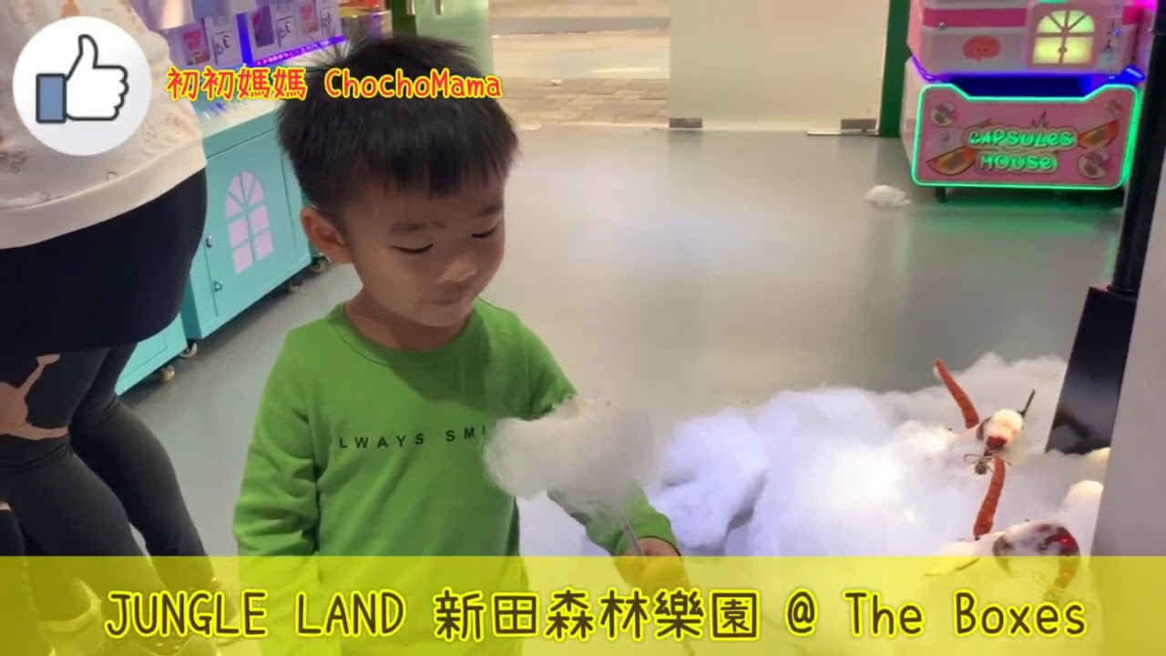 [親子好去處]森林波波池X攤位遊戲 X碰碰車· 新田森林樂園 JungleLand·The Boxes - YouTube