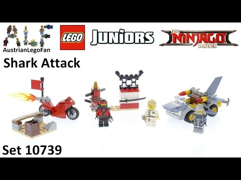 Lego Juniors Ninjago Movie 10739 Shark Attack - Lego Speed Build Review