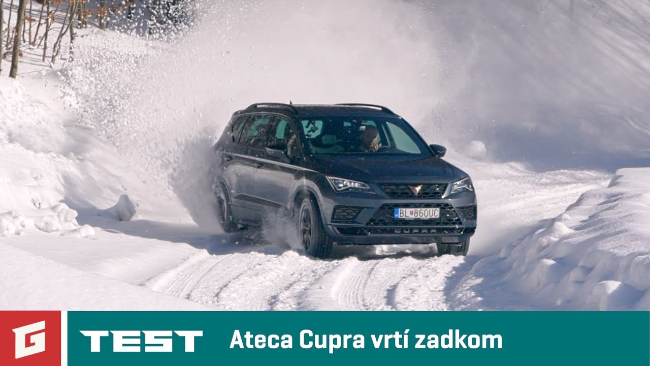 CUPRA ATECA 2,0 TSI 4 DRIVE - NEW ENG SUB !!! SUV - TEST - GARAZ.TV - Rasťo Chvála - YouTube
