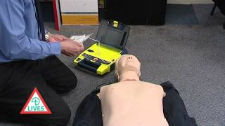 How to use the Automated External Defibrillator (AED)