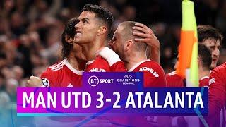 Man Utd v Atalanta (3-2)   Ronaldo scores ANOTHER late winner   Champions League Highlights