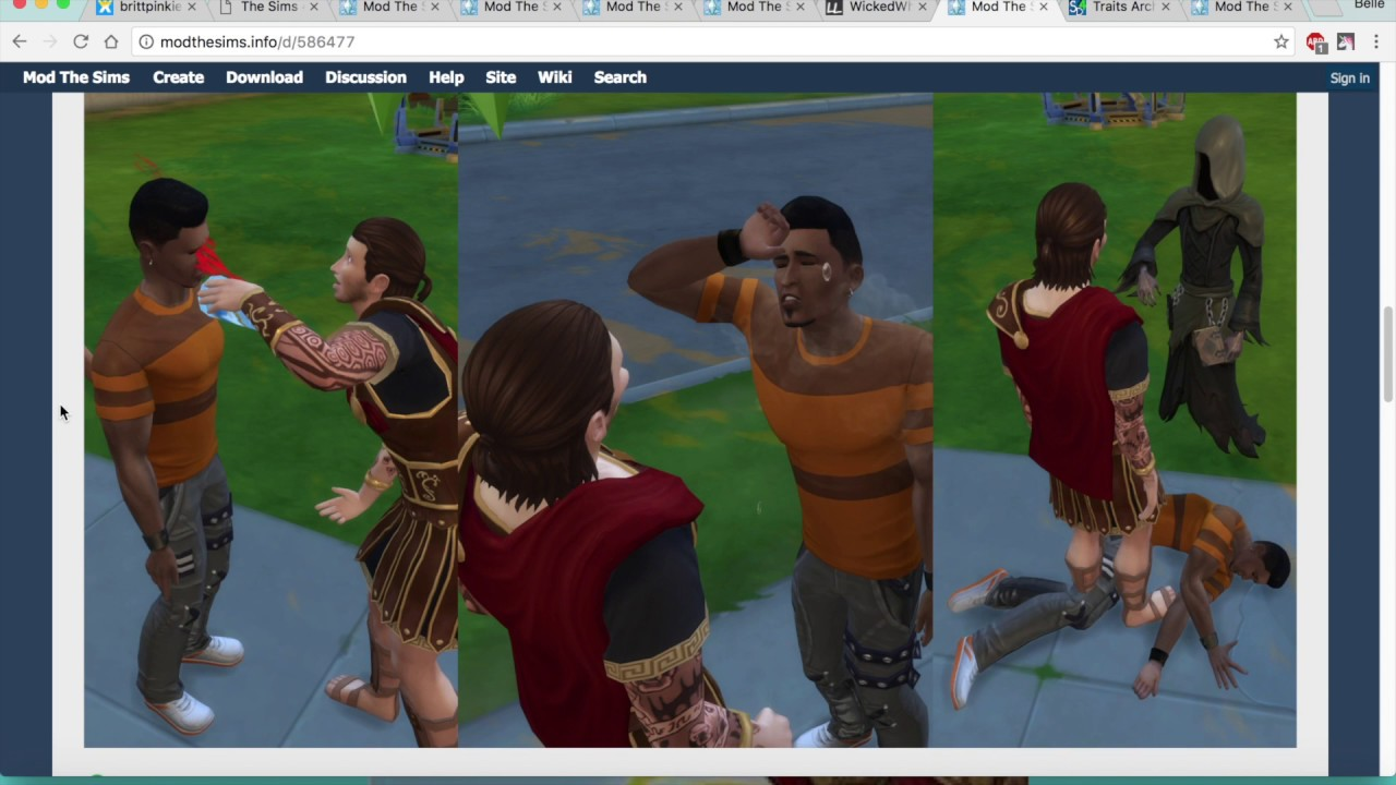 Sims 4 wicked whims test 1 - 1 2