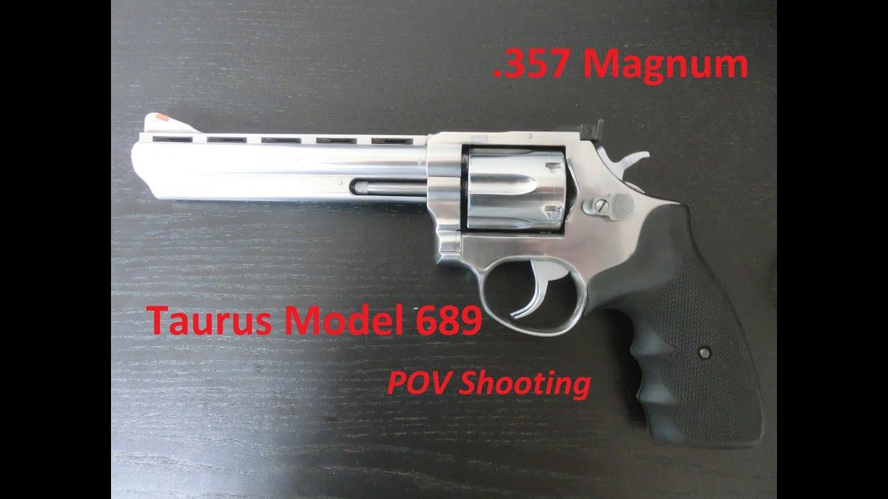 taurus model 689 357 magnum pov fps shooting youtube. Black Bedroom Furniture Sets. Home Design Ideas