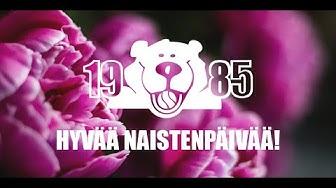 Hyvää kansainvälistä naistenpäivää!
