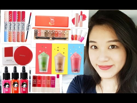 Massive Korean Makeup Haul - English (Bahasa Indonesia subtitle)
