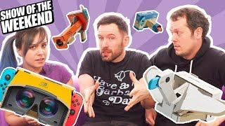 Show of the Weekend: Ancestors and Andy's Laborious LABO VR Craft Challenge!