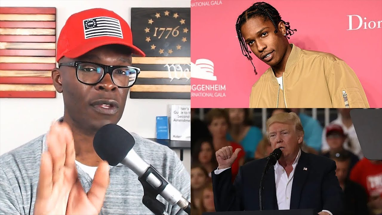 ABL Will Donald Trump FREE ASAP Rocky From Jail in Sweden?