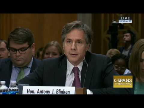 Deputy Sec. Of State Anthony Blinken Is Unable To Outline The Administration's Policy In Syria