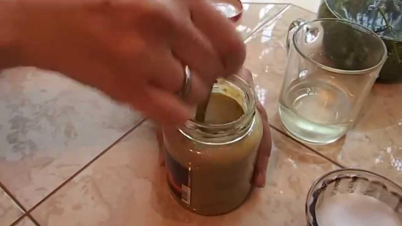 Приготовить горчицу из горчичного порошка на рассоле