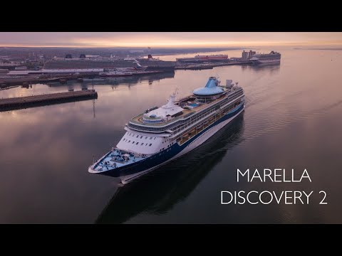 Marella Discovery 2 Arriving Port Of Southampton