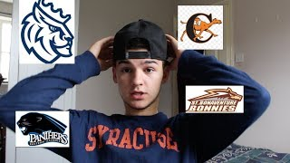 REVEALING WHICH COLLEGE I DECIDED TO GO TO!!!