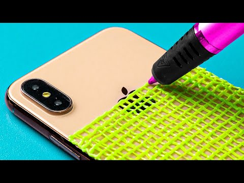 3D PEN VS GLUE GUN! 17 Cool Hacks And Crafts For You