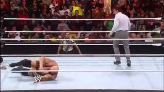 Alberto Del Rio Turns Face & Saves Ricardo Rodriguez from Big Show  WWE Raw 12/31/12