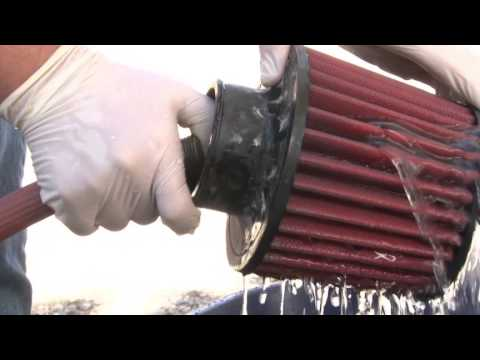 AEM Dryflow Air Filter Cleaning Video