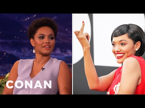 "Kiersey Clemons: ""Bitch"" Is A Term Of Affection For Me - CONAN on ..."