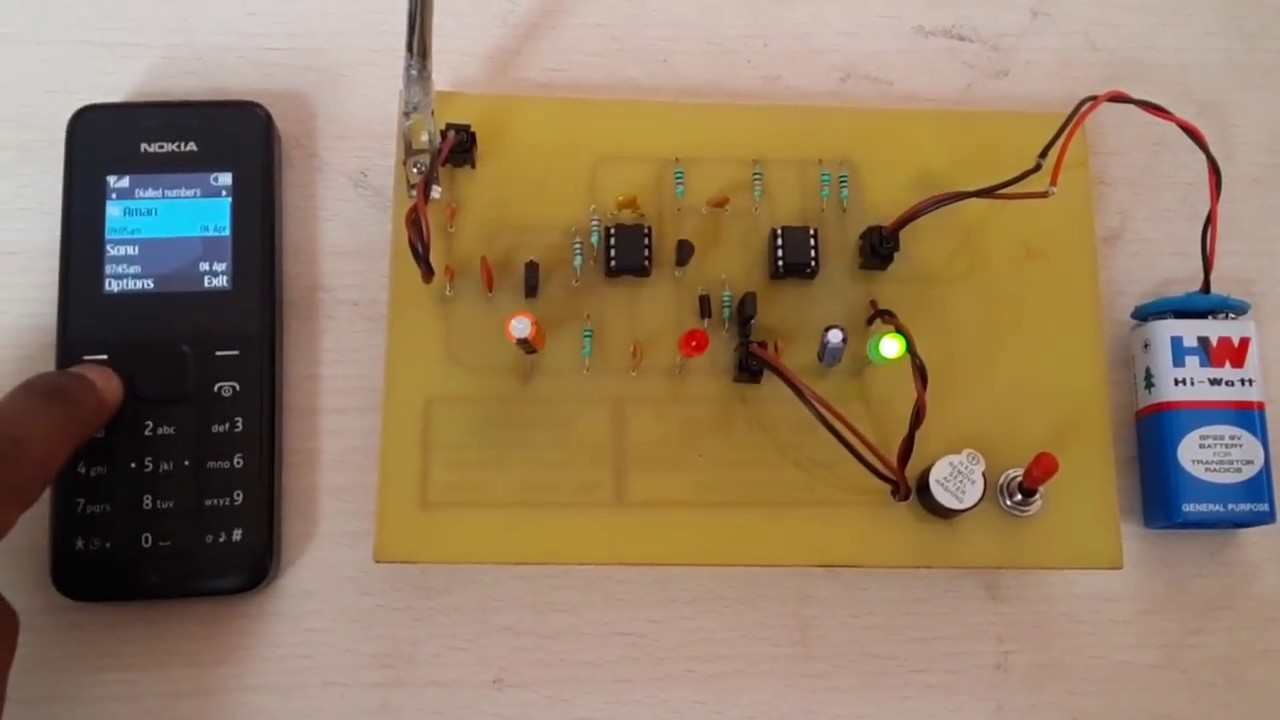 Mobile Detector Electronic Mini Project - 2  2