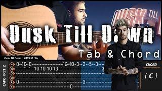 Video ZAYN - Dusk Till Dawn ft. Sia - Cover (Fingerstyle Cover) + TAB Tutorial (Lesson) download MP3, 3GP, MP4, WEBM, AVI, FLV Maret 2018