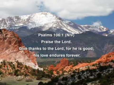 Psalm 106 1 Youtube