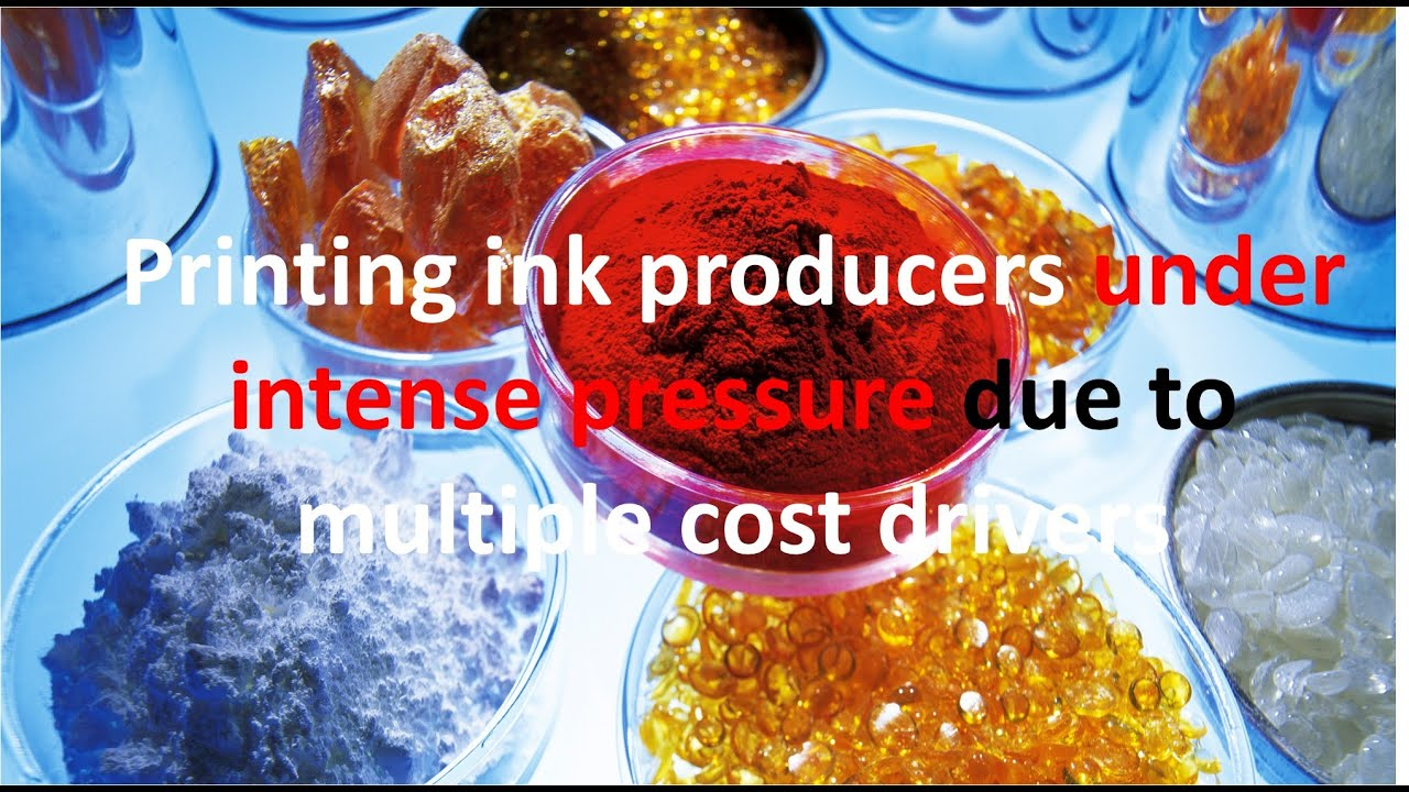 Printing ink producers under intense pressure due to multiple cost drivers  - YouTube