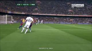 ريال مدريد 1 - 0 برشلونه نهائي كاس ملك اسبانيا