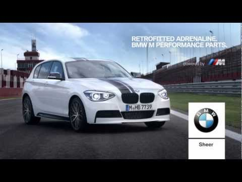 bmw m performance parts for bmw 1 series f20 youtube. Black Bedroom Furniture Sets. Home Design Ideas