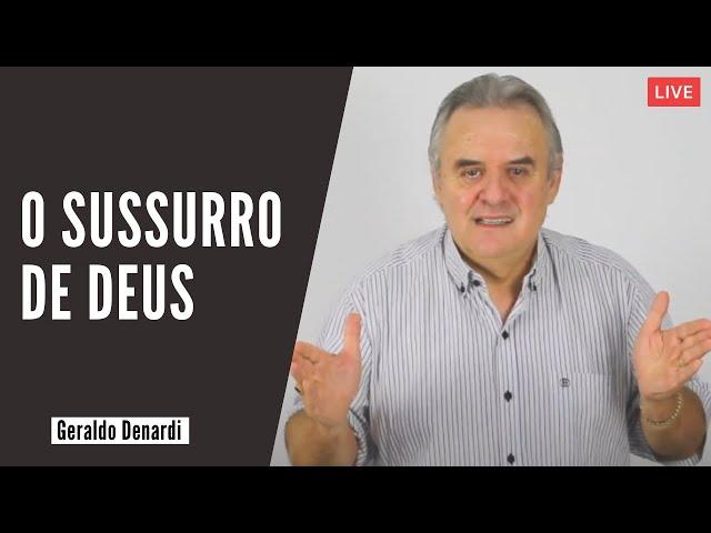 O sussurro de Deus - Ap. Denardi - Live 25/03