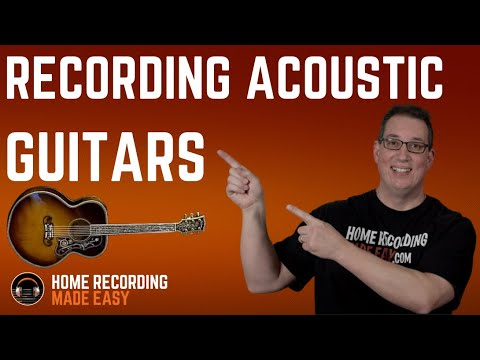 How to Record an Acoustic Guitar For Beginners