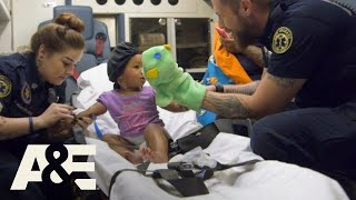 Nightwatch: Nick Puts On A Puppet Show For Toddler (S2) | A&E