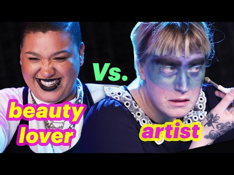 Beauty Lover Vs. Artist  Weather Makeup Challenge