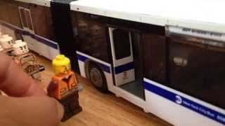 New York City MTA Articulated Bus M34 Crossdown Manhattan Route