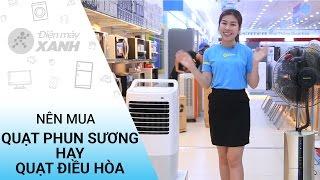 Nên mua quạt phun sương hay quạt điều hòa? • Điện máy XANH